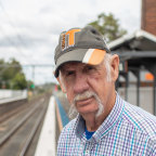 Bob Petersen, 74, was helped off the street into an affordable rental by not-for-profit Housing Trust thanks to NSW state funding during COVID.