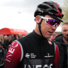 Chris Froome has won four Tour de France titles with Ineos, but there is no guarantee they'll ride for him this year.