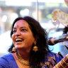 Indian classical musician Sarita McHarg
