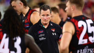 """Bombers coach John Worsfold said Joe Daniher was a """"big chance"""" to play round 16 but has rested him instead."""