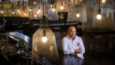 Chef Adam D'Sylva of Coda. The restaurant is struggling to find enough staff.