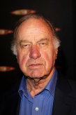 Geoffrey Palmer at the gala screening of the Dr Who Christmas episode at London's Science Museum in December 2007.