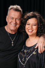 Jimmy Barnes with his daughter Mahalia.