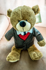 Anthony the bear is inspired by one of Dainere's drawings.
