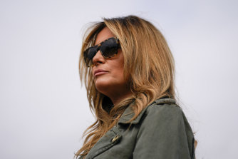 Melania Trump has divided critics at times with her fashion choices.