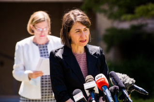 NSW Premier Gladys Berejiklian on Wednesday.