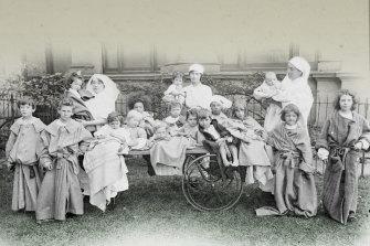 Children confined during the Spanish flu epidemic that killed 12,000 Australians.