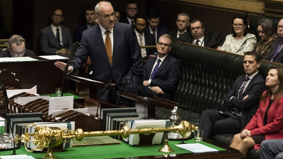 'Absolute farce': Parliament descends into chaos