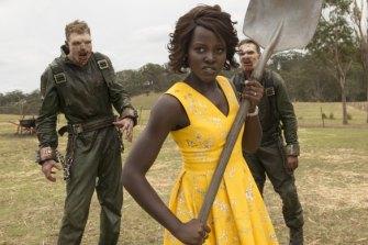 Lupita Nyong'o is zombie-fighting school teacher Miss Caroline in Little Monsters.