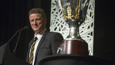 Damien Hardwick has extended his deal at Richmond.