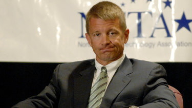 Erik Prince, chairman of Blackwater USA, allegedly met with a Russian official in the Seychelles with the intention of setting up a back channel for communications.