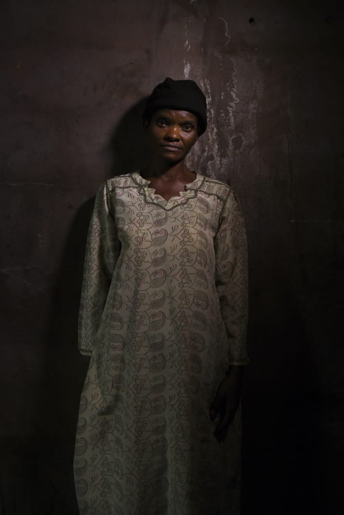 Monique Nakanuenzatshinyi, 26, managed to escape after four months.