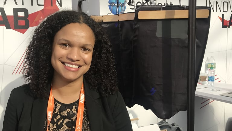 Janett Liriano, CEO of wearable tech company Loomia, says her technology can help companies learn how their products are used.
