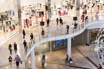 Vicinity Centres owns 60 malls across Australia including half of the country's largest shopping centre, Chadstone.