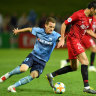 Sydney FC draw 2-2 with Shanghai SIPG in another manic goalfest