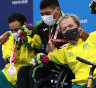 Beaten by a bloke named Jesus, Kelly and Scooter's first Paralympic medals are still heavenly