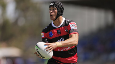 Young gun Joseph Suaalii in action for the Bears.