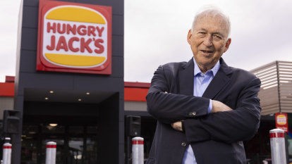 Fake meat and street fights: Why Hungry Jack's founder is still hungry for change