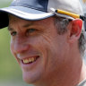 Stars in his eye: David Hussey the new coach of BBL outfit