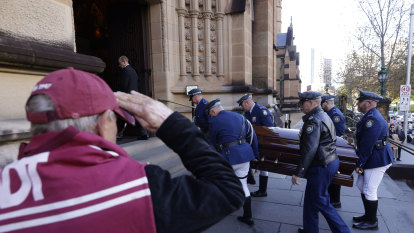 'The high priest of football': Fulton remembered during state funeral