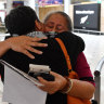 'Like a scene from Love Actually': tears, cheers for first NZ travel bubble flight