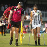 Three knee injuries, one a confirmed ACL tear, cast shadow over AFLW fixtures