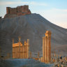Israeli missiles target fighters near Palmyra