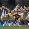 North Melbourne rules out Tasmania move