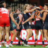 'They had a bit sitting on the liver': Swans primed to fire after shock first loss