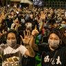 'Democracy now!' Hong Kong protesters defy police ban, mark Tiananmen anniversary