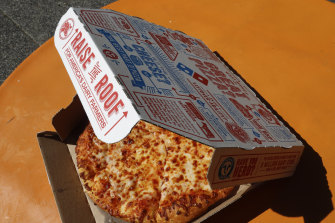 Investors want a slice of Domino's Pizza today.