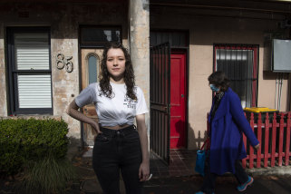 Freya Jarrett, 21, says she is happy to get an AstraZeneca vaccination.