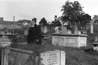 Devonshire St cemetery: not all bodies were moved in 1901. Many were churned into the ground.