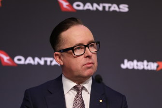 Qantas chief executive Alan Joyce provided a corporate lesson in how to hibernate a business in crisis.