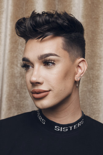 James Charles at the Sofitel in Sydney.