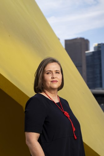 Australia's Sex Discrimination Commissioner, Kate Jenkins.