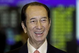 Stanley Ho in 2008.
