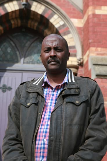 Mr Tadese, 48, says his young son is desperate to know when he can move to Australia.