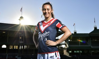 Corban McGregor is primed to finally make her debut for the Roosters in the NRLW Premiership.
