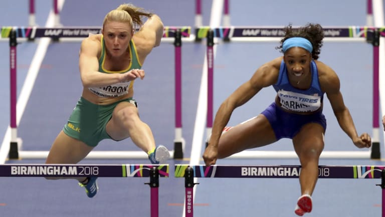 Sally Pearson did not make the final.