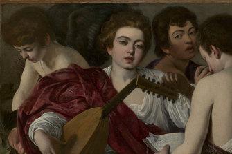 Caravaggio. The Musicians, 1597.