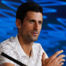 'Inevitable and imminent': Djokovic flags a changing of the guard