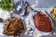Christmas feast from Good Food magazine