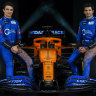 McLaren drivers Lando Norris (left) and Carlos Sainz have taken a pay cut.