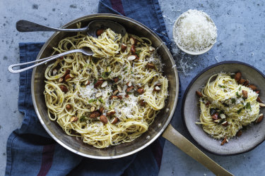 Danielle Alvarez's pantry pasta.
