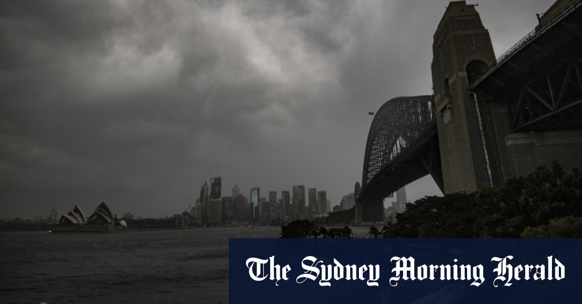 Thousands of customers without energy as strong storms hit Sydney – Sydney Morning Herald
