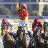Captivant delivers on group 1 promise in Champagne Stakes