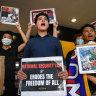 'Kangaroo court!': Activist banned from UQ suspension talks