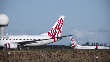 Virgin is 90 per cent owned by Singapore Airlines, Etihad Airways, the Chinese conglomerates HNA and Nanshan, and Richard Branson's Virgin Group.