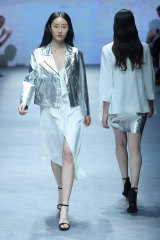 Closing down ... Life with BIRD, shown here at Melbourne Fashion Week, is shutting after 16 years.